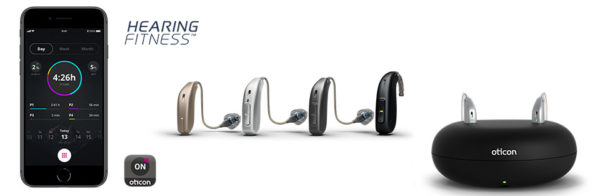 Oticon Opn S hearing fitness