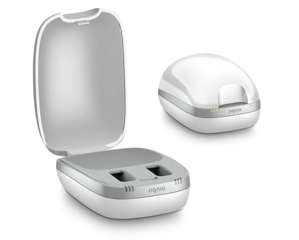 Signia New inductive charger for Hearing Aid