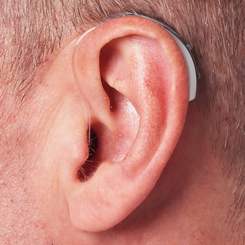 Starkey Hearing & Activity Tracking Behind The Ear (BTE) Hearing Aid
