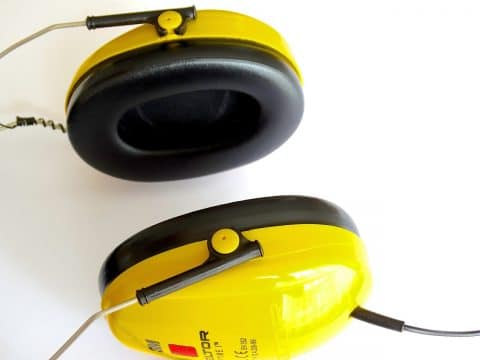 ear muffs to protect your hearing health